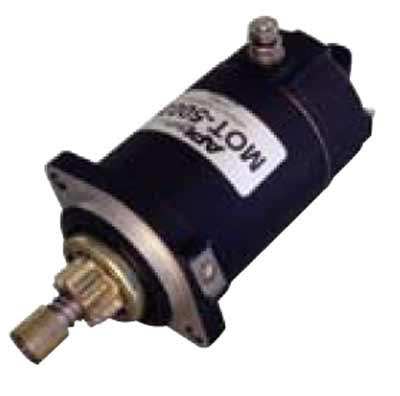 repair outboard starter motor