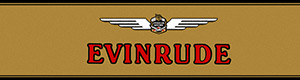 BIG EVINRUDE TANK DECAL
