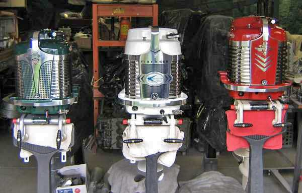 Restored Mercury outboards