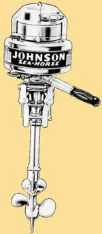 Johnson HA-10 outboard drawing