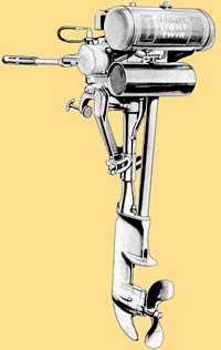 Johnson OA-55 outboard drawing