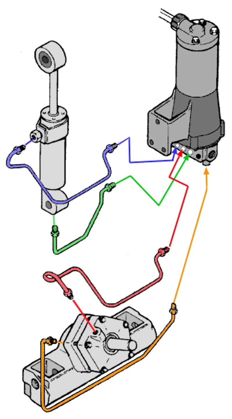 trimtiltdiagram chrysler force outboard motor trim motors, solenoids, relays 85 HP Force Outboard at n-0.co