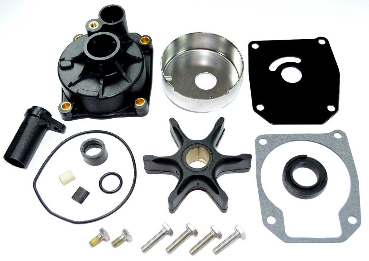 EVINRUDE & JOHNSON WATER PUMP KITS AND IMPELLERS 50 HP AND