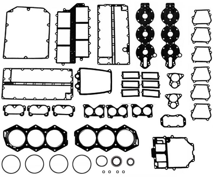 johnson  u0026 evinrude outboard motor powerhead gasket sets