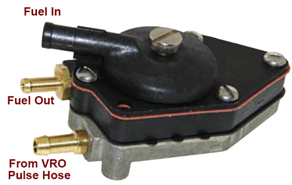 Replacement Fuel Pumps For Johnson  Evinrude  And Omc Sea