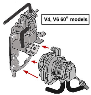 replacement pre mix fuel pumps for vro equipped outboards rh maxrules com Ford V4 Engine Wisconsin V4 Engine