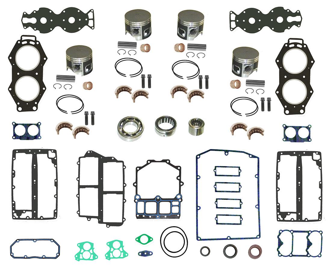 YAMAHA 2-Stroke Outboard Motor Powerhead Rebuild Kits