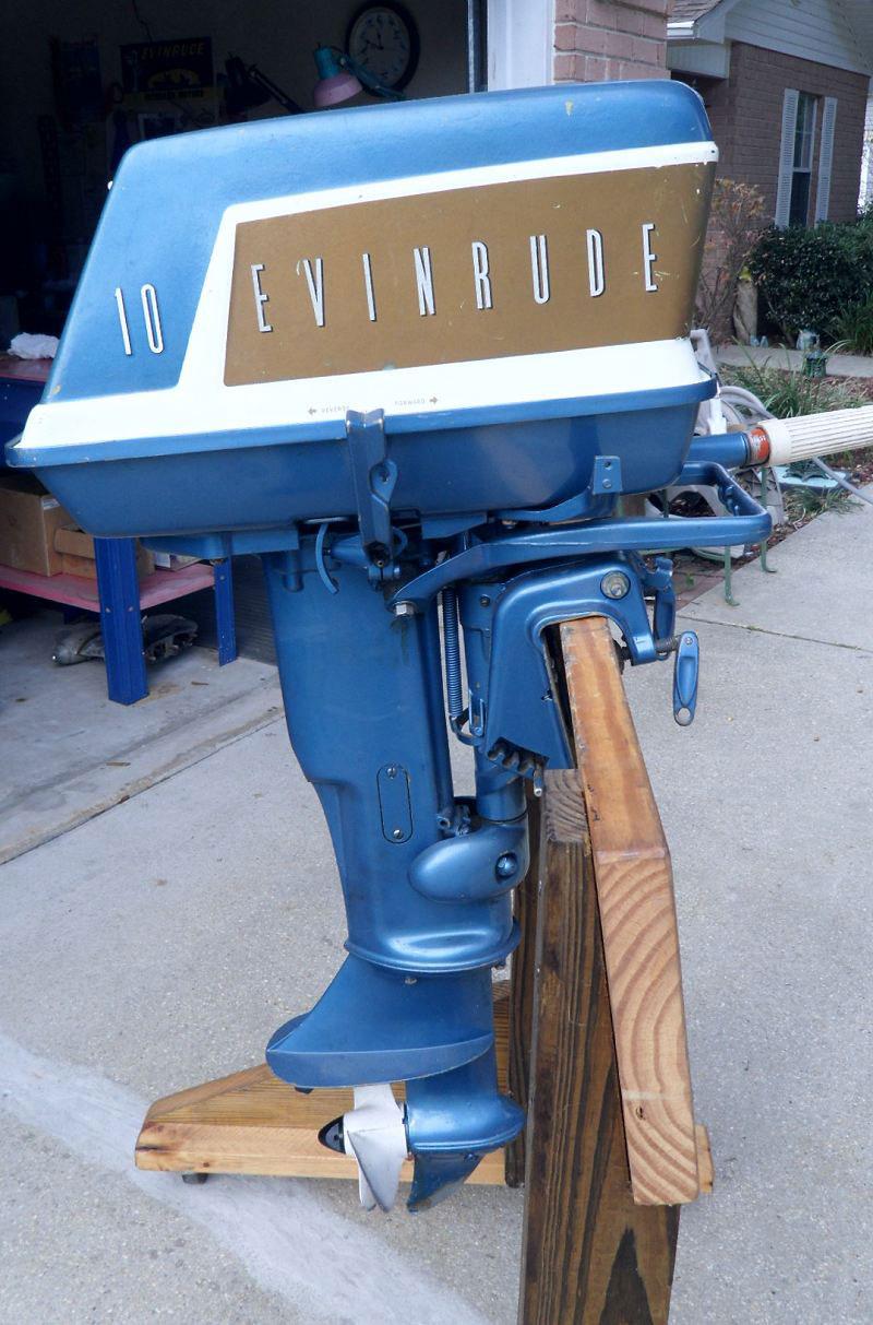 Evinrude 1932 10 HP Tune Up -- MASTERTECH MARINE