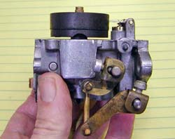 Evinrude Johnson small motor carb assembled